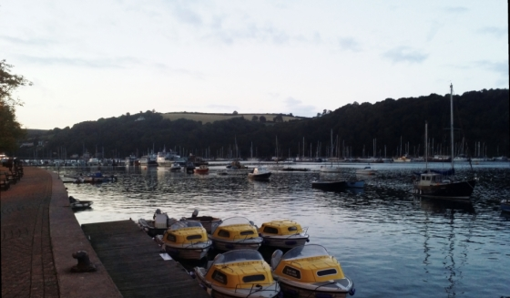 Calm evening on the Dart