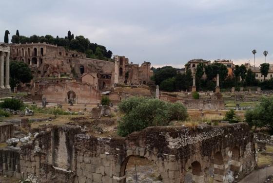 Historic ruins - Rome
