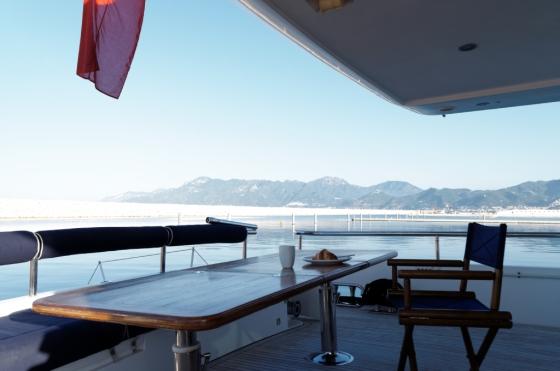 Breakfast in Marina d'Arechi